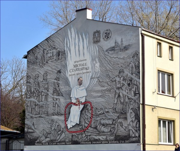Jarosław mural
