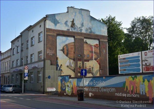 Oświęcim mural