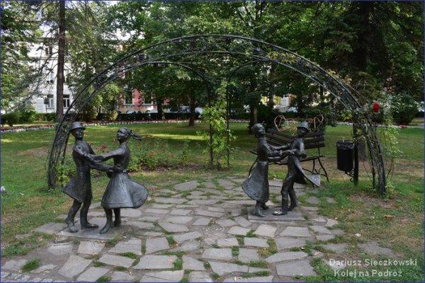 Rzeźba Planty Nowy Sącz