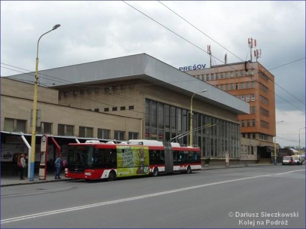 Preszów dworzec