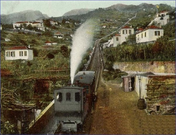 Madera pociąg