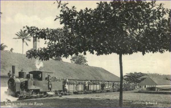Sao Tome pociąg