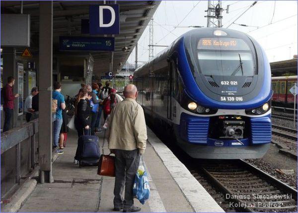 Berlin - Kostrzyn pociąg
