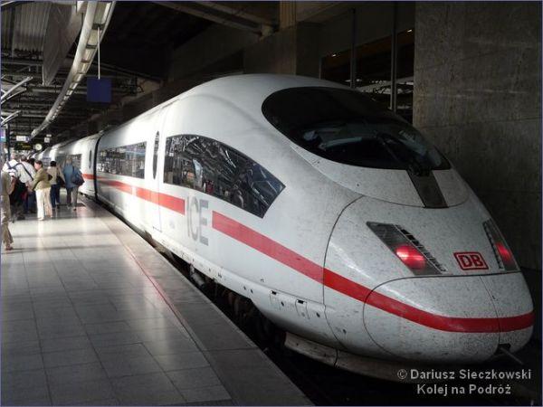 Bruksela - Frankfurt pociąg