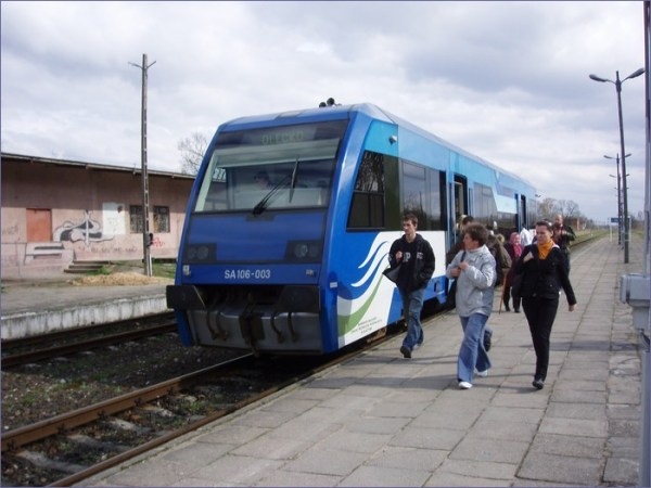 Olecko pociąg