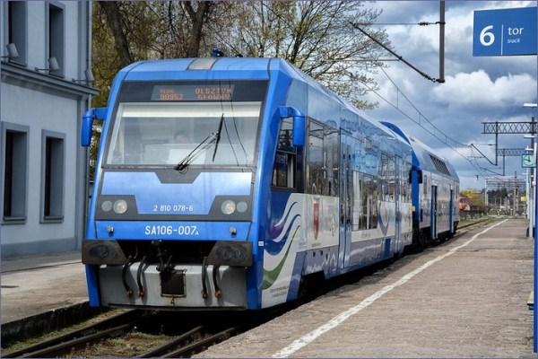 Pociąg Olsztyn - Ełk