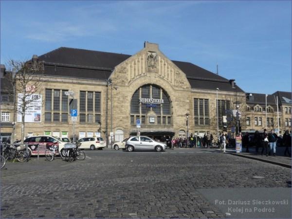 Niemieckie dworce kolejowe Bielefeld Hbf