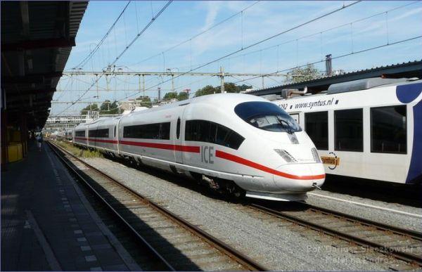 Pociąg Berlin - Amsterdam