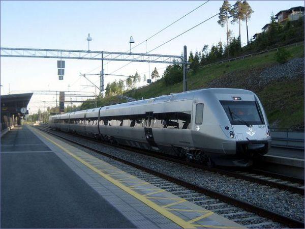 Kolej w Szwecji X55