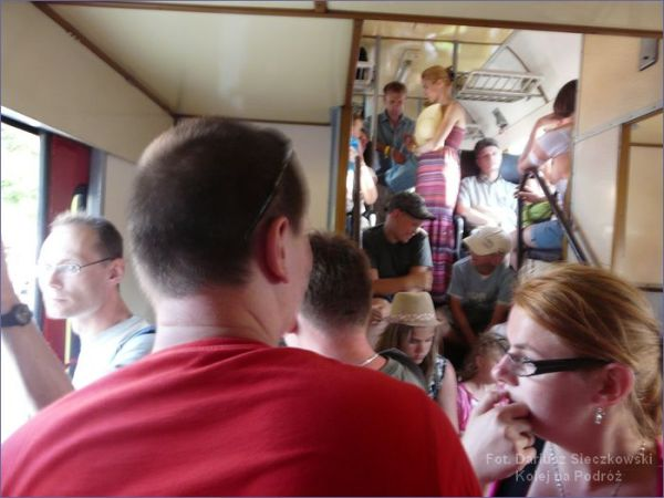 Tłok w pociągu