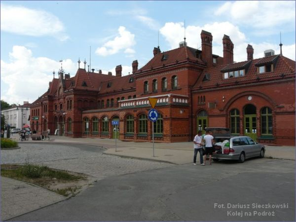 Malbork dworzec