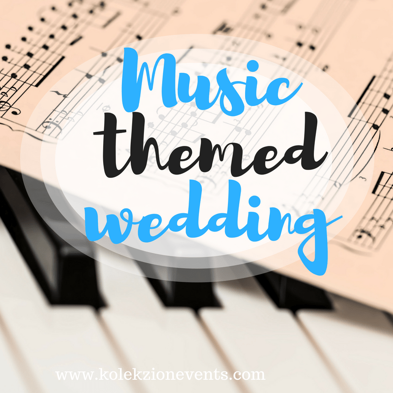 music theme wedding,wedding themes,couple loves music