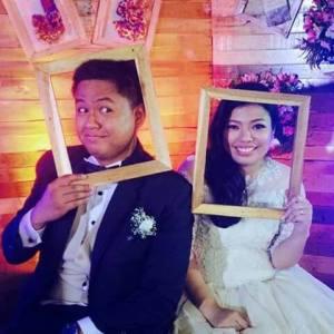 rustic themed wedding in Los Banos Laguna;wedding planner in Laguna;host in Laguna;