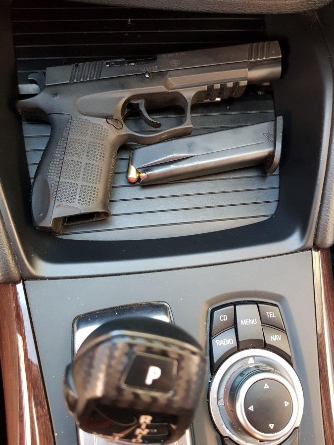 Пистолет Мурада Касымова