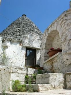 Alberobello: itt is laknak még