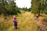3,5 évesen már keményen túrázik Hám Boglárka, Melinda és Péter lánya