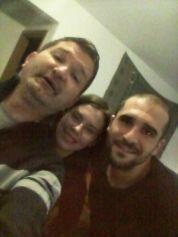 Házigazdánk, Luis társaságában