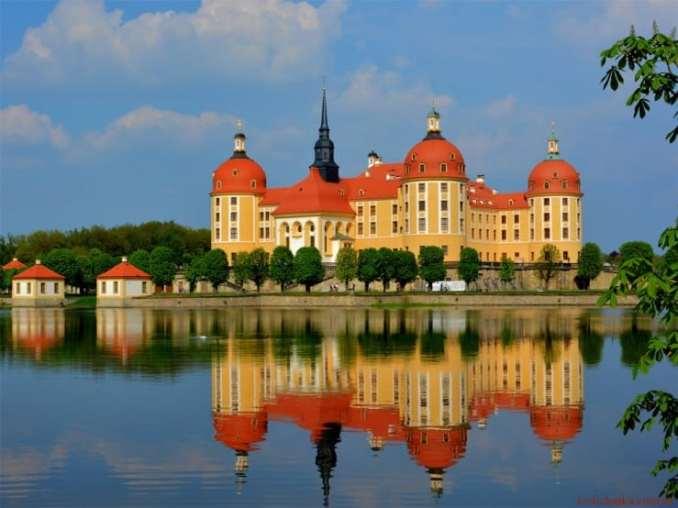 Замок Морицбург, Німеччина