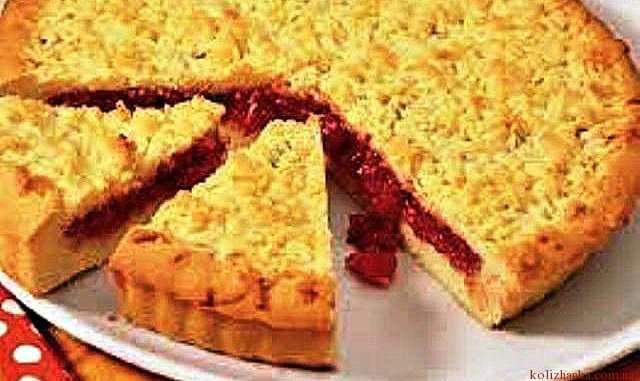 Малиновий пиріг. Рецепт приготування