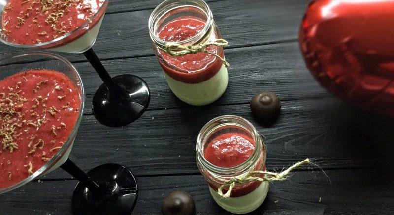 Домашня панакота - рецепт приготування з фото