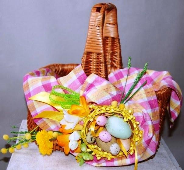 Декор Великоднього кошика 33 фото-ідеї (30)