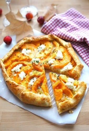 Пиріг з гарбузом, цибулею і сиром