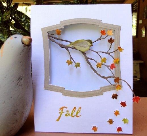 Осінні листівки своїми руками (60 цікавих ідей з фото) (42)