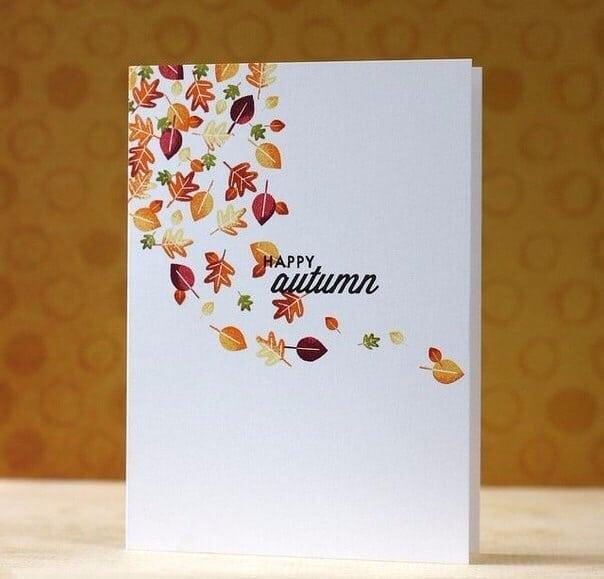 Осінні листівки своїми руками (60 цікавих ідей з фото) (58)