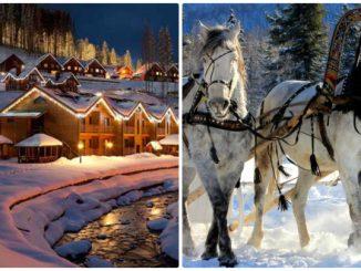 Зимовий відпочинок в Карпатах 2018-2019: лижі, санки, екскурсії
