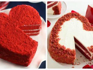 """Торт """"Червоний оксамит"""" (Red Velvet): покроковий відео-рецепт"""