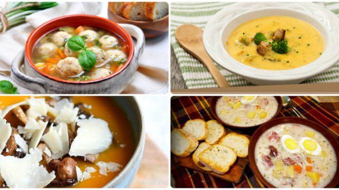 5 цікавих рецептів супів для смачного обіду