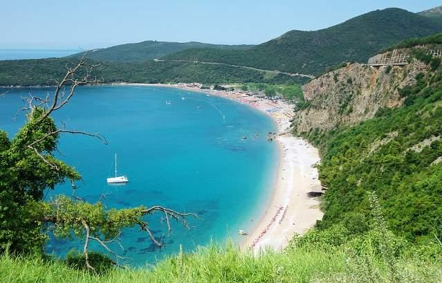 Пляж Яз (Jaz Beach), Чорногорія