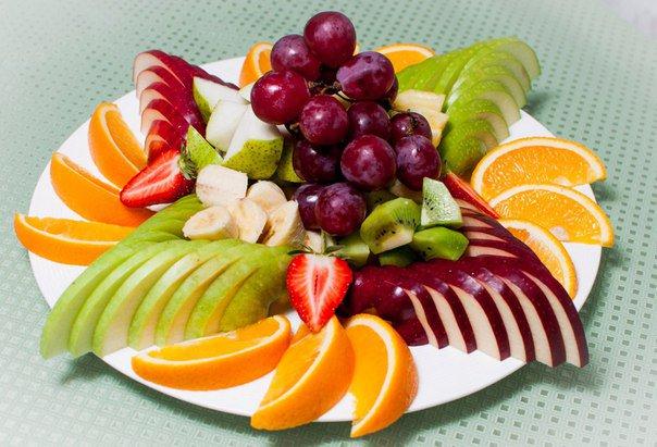 фруктовая нарезка своими руками