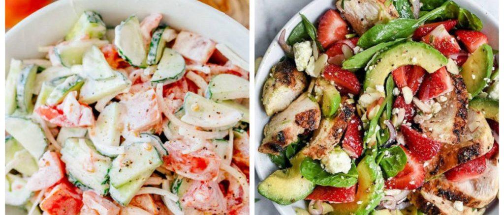 9 дієтичних салатів замість вечері: смачні та прості рецепти