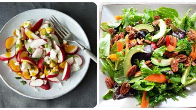 Весняні салати: 7 нових і цікавих поєднань (рецепти з фото)