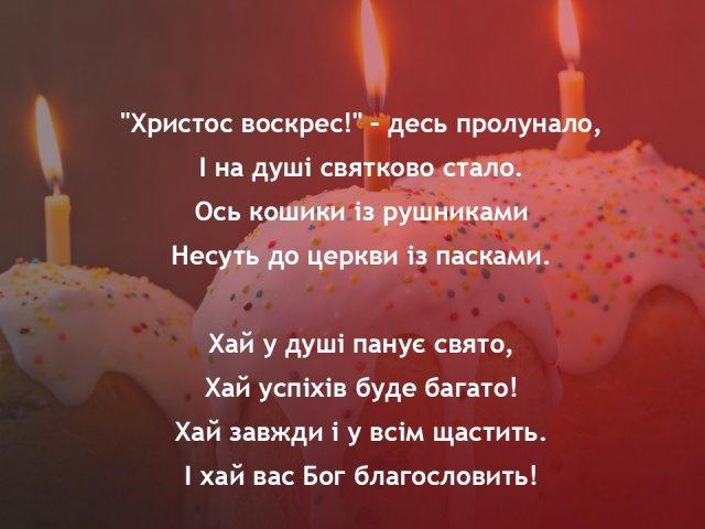 Картинки з Великоднем: віршовані привітання та вітання у прозі українською мовою
