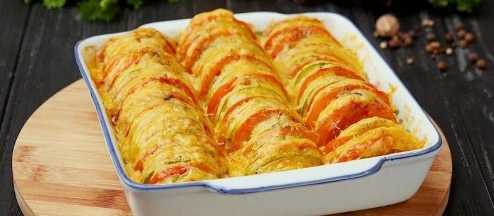 Кабачки, помідори, картопля: рецепт швидкої та ситної вечері