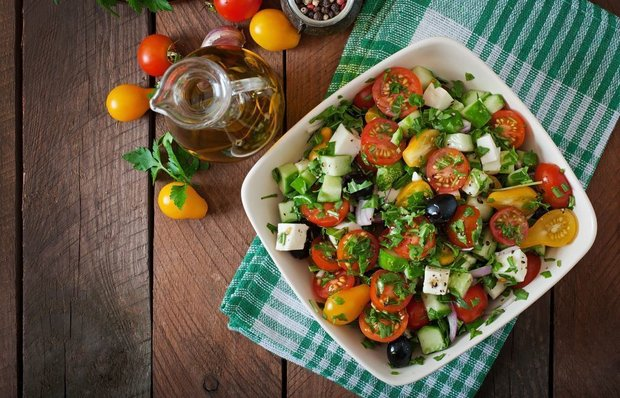 Класичний Грецький салат - рецепт
