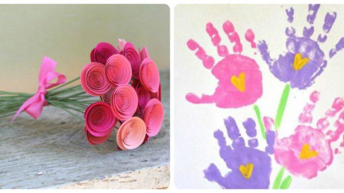 Дитяча творчість до Дня матері: фото-ідеї виробів руками дітей
