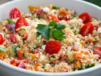 Овочевий салат з кус-кусом: покроковий рецепт