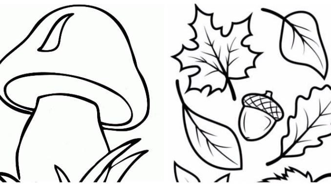 Осінні витинанки: якісні шаблони для скачування (30 фото)