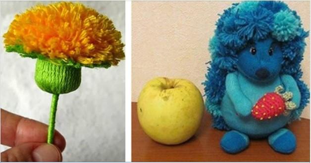 Вироби з ниток для дітей: цікаві ідеї та майстер-класи (ФОТО)