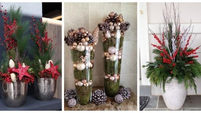 Вуличні вази: підбірка зимових ідей (ФОТО)