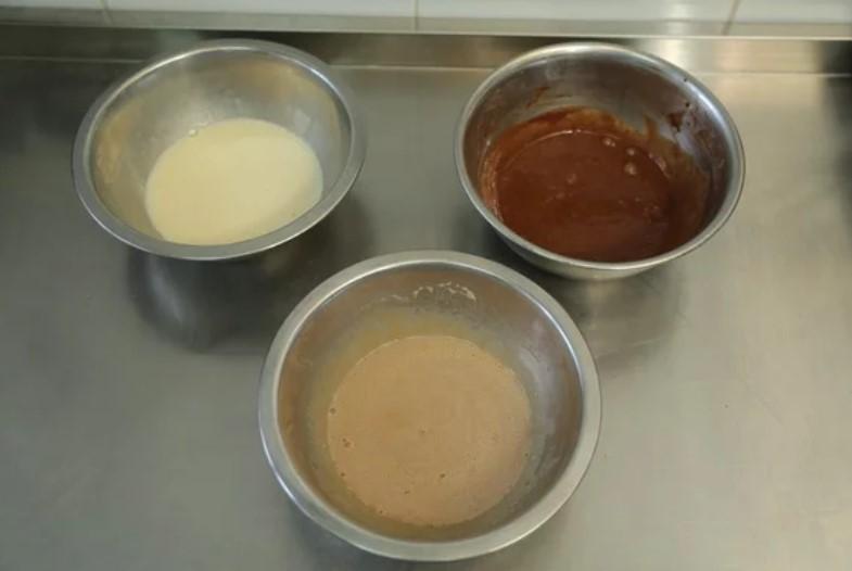 "Десерт ""Три шоколади"" в стаканчику - покроковий рецепт"