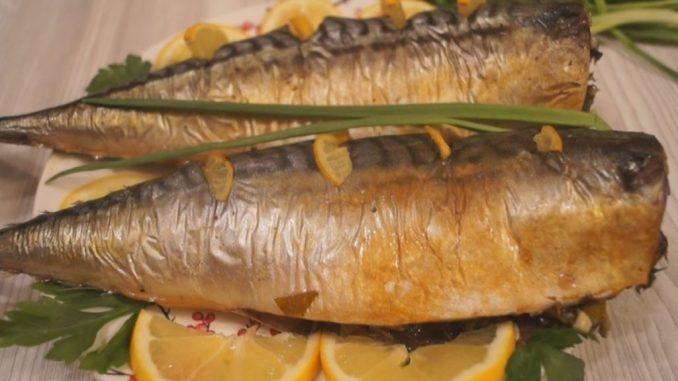 Скумбрія, запечена в фользі — неймовірно смачний рецепт