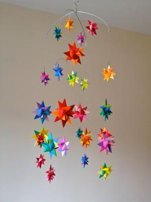 бумажный декор для праздника