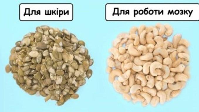 13 найбільш корисних горіхів та насіння, які потрібно їсти щодня, аби залишатися здоровим