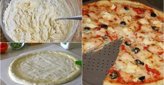 Смачні рецепти тіста, для домашньої піци, які мають бути у кожної господині