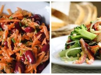 Пісні салати — 15 смачних та корисних рецептів
