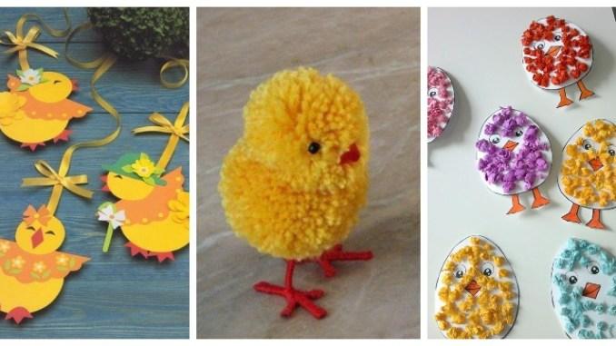 Великодні курчата своїми руками: цікаві ідеї та майстер-класи (ФОТО)